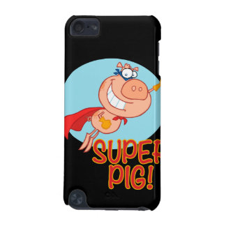 super pig superhero pig flying iPod touch 5G cases
