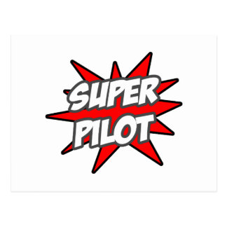 Super Pilot Postcards