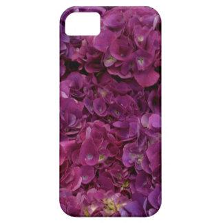 Super pink hydrangea flower iphone case