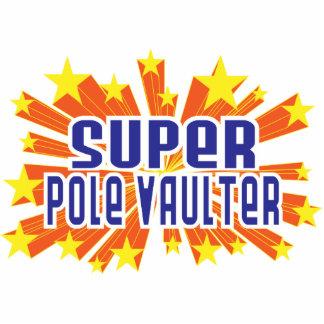 Super Pole Vaulter Photo Cut Outs
