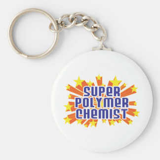 Super Polymer Chemist Key Chains