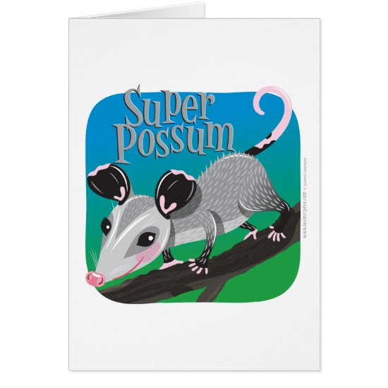 Super Possum Card