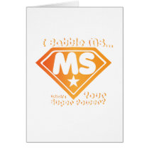 Super Power Multiple Sclerosis Awarness Card