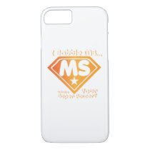 Super Power Multiple Sclerosis Awarness iPhone 8/7 Case