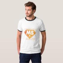 Super Power Multiple Sclerosis Awarness T-Shirt