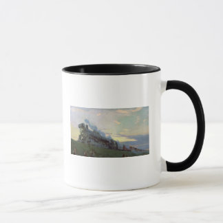 Super power steam engine, 1935 mug