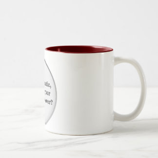 Super Power Two-Tone Coffee Mug
