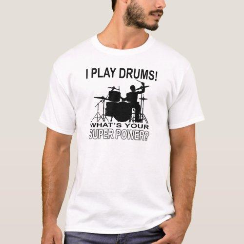 Super Power _ White T_Shirt
