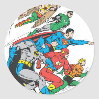 Super Powers™  Collection 12 Classic Round Sticker