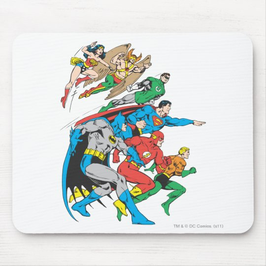 Super Powers™  Collection 12 Mouse Pad