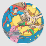 Super Powers™  Collection 15 Classic Round Sticker