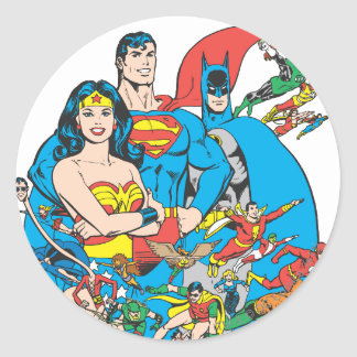 Super Powers™ Collection 1 Classic Round Sticker