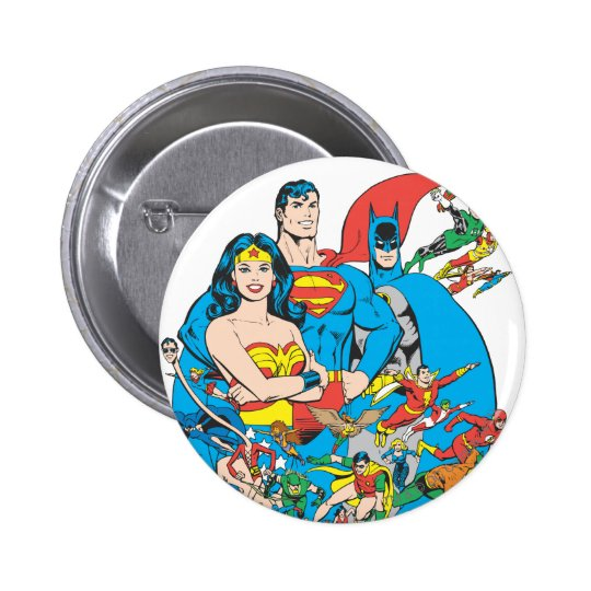 Super Powers™ Collection 1 Pinback Button