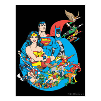 Super Powers™ Collection 1 Postcard