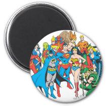 super, powers, collection, justice league heroes, justice, league, justice league logo, justice league, logo, hero, heroes, dc comics, comics, comic, comic book, comic book hero, comic hero, comic heroes, comic book heroes, dc comic book heroes, batman, bat man, the dark knight, superman, super man, green lantern, wonder woman, shazam, green arrow, hawk man, hawk woman, plastic man, firestorm, dr. fate, martian manhunter, red tornado, darkseid, aquaman, supergirl, the emerald warrior, Ímã com design gráfico personalizado