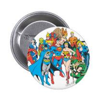 super, powers, collection, justice league heroes, justice, league, justice league logo, justice league, logo, hero, heroes, dc comics, comics, comic, comic book, comic book hero, comic hero, comic heroes, comic book heroes, dc comic book heroes, batman, bat man, the dark knight, superman, super man, green lantern, wonder woman, shazam, green arrow, hawk man, hawk woman, plastic man, firestorm, dr. fate, martian manhunter, red tornado, darkseid, aquaman, supergirl, the emerald warrior, Button with custom graphic design