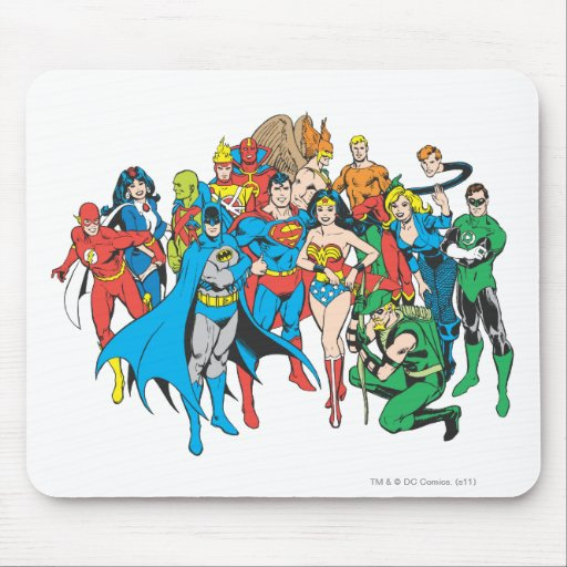 Super Powers™ Collection 2 Mouse Pads