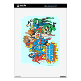 Super Powers™ Collection 2 Decal For iPad 2