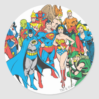 Super Powers™ Collection 2 Round Stickers