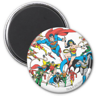 Super Powers™ Collection 3 2 Inch Round Magnet