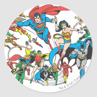 Super Powers™ Collection 3 Classic Round Sticker