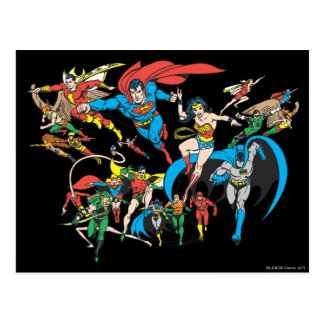 Super Powers™ Collection 3 Postcard