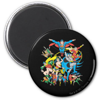Super Powers™ Collection 4 2 Inch Round Magnet