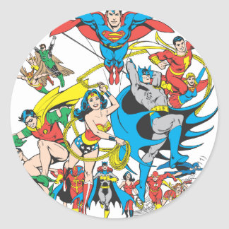 Super Powers™ Collection 4 Classic Round Sticker