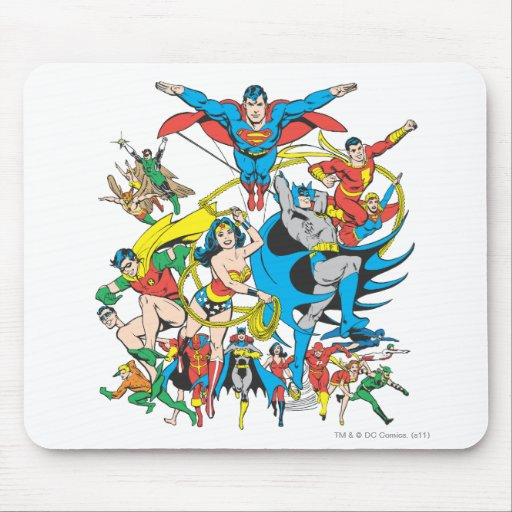 Super Powers™ Collection 4 Mousepads
