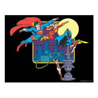 Super Powers™ Collection 5 Postcards