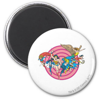 Super Powers™ Collection 8 2 Inch Round Magnet