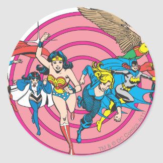 Super Powers™ Collection 8 Classic Round Sticker