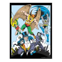 super, powers, collection, justice league heroes, justice, league, justice league logo, justice league, logo, hero, heroes, dc comics, comics, comic, comic book, comic book hero, comic hero, comic heroes, comic book heroes, dc comic book heroes, batman, bat man, the dark knight, superman, super man, green lantern, wonder woman, shazam, green arrow, hawk man, hawk woman, plastic man, firestorm, dr. fate, martian manhunter, red tornado, darkseid, aquaman, supergirl, the emerald warrior, Postcard with custom graphic design