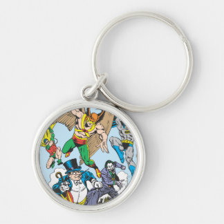 Super Powers™ Collection 9 Silver-Colored Round Keychain