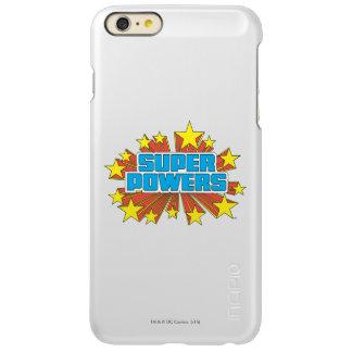 Super Powers™  Logo Blue Incipio Feather® Shine iPhone 6 Plus Case