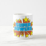 Super Powers™  Logo Blue Mug