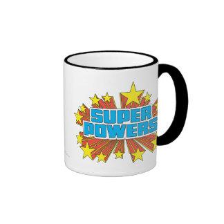 Super Powers™ Logo Blue Mugs
