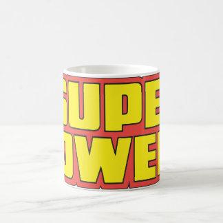 Super Powers™  Logo Yellow Coffee Mug
