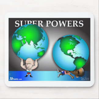 Super Powers Mouse Pad