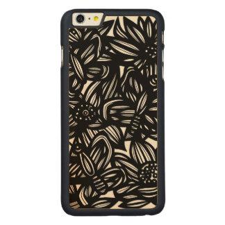 Super Pretty Sensible Sociable Carved® Maple iPhone 6 Plus Slim Case