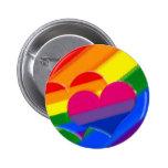 Super Pride rainbow bi pride 2 Inch Round Button