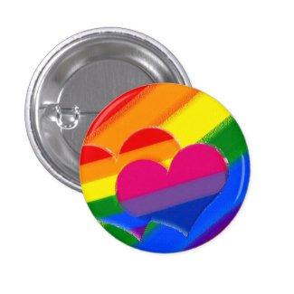 Super Pride rainbow bi pride Buttons