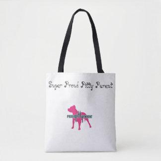 Super Proud Pitty Parent Pride Tote Bag