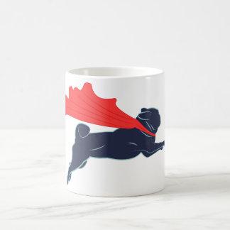 Super Pug Coffee Cup