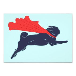 Super Pug Invitations