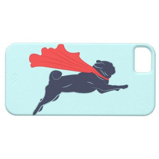 Super Pug iPhone Case iPhone 5 Cover