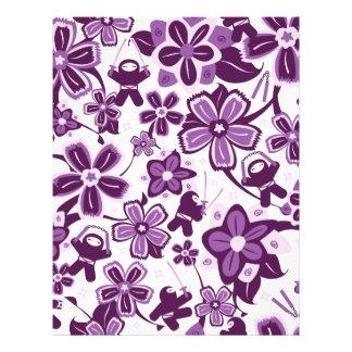Super Purple Ninja Warriors Customized Letterhead