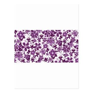 Super Purple Ninja Warriors Postcard