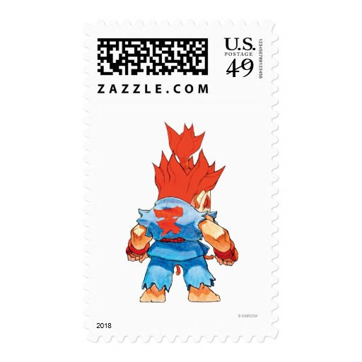 Super Puzzle Fighter II Turbo Akuma Stamps