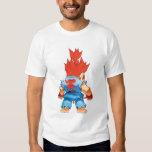 Super Puzzle Fighter II Turbo Akuma Tee Shirt